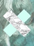 Geometric Marble X Reproduction d'art par LILA X LOLA