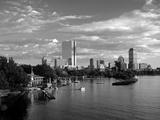 Back Bay, Boston, Massachusetts, USA Papier Photo par Walter Bibikow