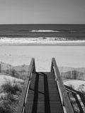 New York  Long Island  the Hamptons  Westhampton Beach  Beach View from Beach Stairs  USA