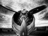 1945: Avion à hélice  Reproduction d'art par Stephen Arens