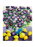 Purple Asters and Lemons
