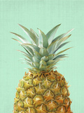 Peek A Boo Pineapple Reproduction d'art par LILA X LOLA