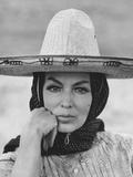 "Mexican Actress Maria Felix on Set New Picture ""Juana Gallo"""