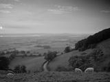 Coaley Peak  Dursley  Cotswolds  England