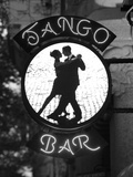 Tango Bar Sign  Buenos Aires  Argentina