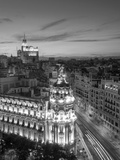 Spain  Madrid  Metropolis Building and Gran Via
