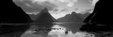 South Island, Milford Sound, New Zealand Papier Photo par Panoramic Images