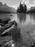 Spirit Island  Maligne Lake  Jasper National Park  UNESCO World Heritage Site  British Columbia  Ro