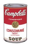 Campbell's Soup I: Consomme, 1968 Giclée par Andy Warhol