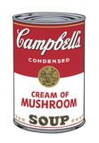 Campbell's Soup I: Cream of Mushroom  1968