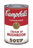 Campbell's Soup I: Cream of Mushroom, 1968 Reproduction d'art par Andy Warhol
