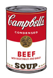 Campbell's Soup I: Beef, 1968 Reproduction d'art par Andy Warhol