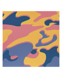 Camouflage  1987 (pink  purple  orange)