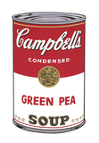 Campbell's Soup I: Green Pea  1968
