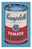 Colored Campbell's Soup Can, 1965 (pink & red) Reproduction d'art par Andy Warhol