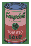 Colored Campbell's Soup Can  1965 (red & green)