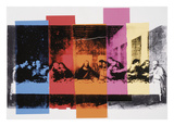 Detail of The Last Supper, 1986 Reproduction d'art par Andy Warhol