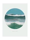 Inspirational Circle Design - Ocean Waves: Beach Bound