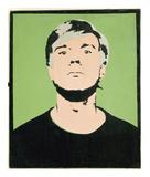 Self-Portrait  1964 (on green)