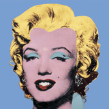 Shot Light Blue Marilyn, 1964 Reproduction d'art par Andy Warhol