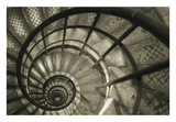 Spiral Staircase in Arc de Triomphe