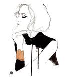 The Gold Cuff Reproduction d'art par Jessica Durrant