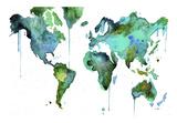 Watercolor Map No 6