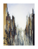 Abstraction urbaine no 141 Reproduction d'art par Gregory Lang