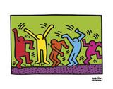 Untitled, 1987 (dance) Reproduction d'art par Keith Haring
