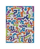 Untitled (Palladium Backdrop), 1985 Giclée par Keith Haring