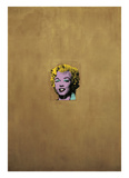 Marilyn Monroe dorée, 1962 Reproduction d'art par Andy Warhol