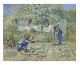 First Steps - After Millet  1890