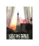 Here's Looking at You Paris Giclée par Jessica Durrant