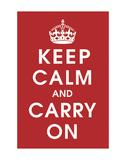 Keep Calm (Red)
