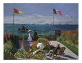 Jardin a Sainte-Adresse  1866/1867