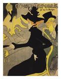 Le Divan Japonais Reproduction d'art par Henri De Toulouse-Lautrec