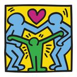KH11 Reproduction d'art par Keith Haring