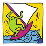 KH12 Reproduction d'art par Keith Haring
