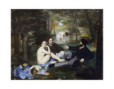 Luncheon on the Grass  1863