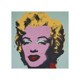 Marilyn  1967 (on blue ground)