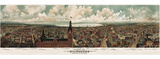 Panoramic View of Milwaukee  Wisconsin  1898