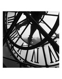 La grande horloge d'Orsay Reproduction d'art par Tom Artin