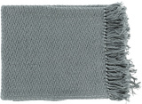 Tressa Throw - Slate Green