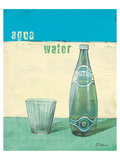 Aqua Minerale Reproduction d'art par Anna Flores