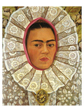 Autoritratto 1948 Reproduction d'art par Frida Kahlo