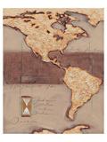 Discover America Reproduction d'art par Joadoor