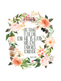 Psalm 118 1 Wreath