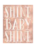 Shine Baby Shine Coral Bokeh Reproduction d'art par Tara Moss