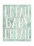 Dream Baby Dream Bokeh Reproduction d'art par Tara Moss