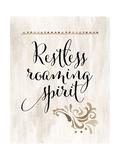 Restless Roaming Spirit Reproduction d'art par Tara Moss